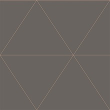Twilight Grey Geometric Wallpaper