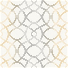 Twister Ginger Trellis Wallpaper