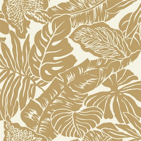 Valdivian Wallpaper Gold