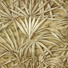 Veneto Copper Palm Tree Wallpaper