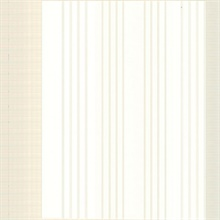 Vickie Cream Stripe
