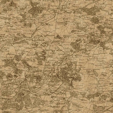 GX8173 | Vintage Map | Wallpaper Boulevard