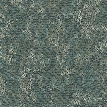 Viper Teal Faux Textured Snakeskin Wallpaper