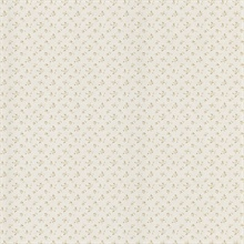 Virginia Taupe Small Rose Linen Wallpaper