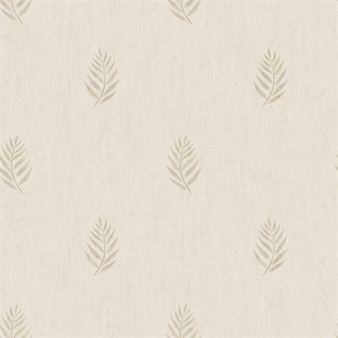 Vista Beige Leaf