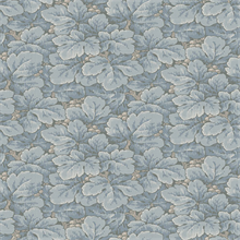 Waldemar Light Blue Foliage Wallpaper