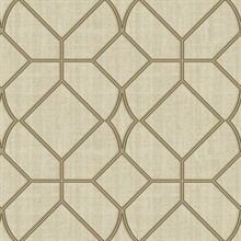 Washington Square Beige Trellis