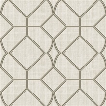 Washington Square Taupe Trellis