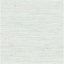 Waverly Aqua Faux Grasscloth Wallpaper