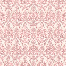 Waverly Red Petite Damask