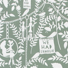 We had Everything - Sage colourway wallpaper