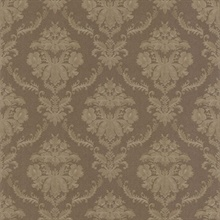 Westminster Brown Damask