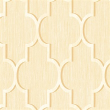 White and Gold Agate Trellis