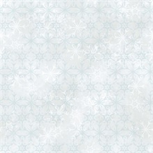 White & Aqua Disney Frozen 2 Snowflake Wallpaper