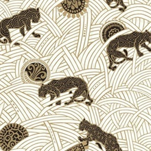 White Black Gold Tibetan Tigers Wallpaper