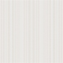 White Commercial Stripe Wallpaper