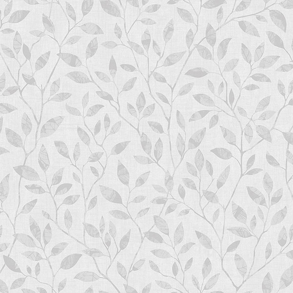 white grey willow leaf wallpaper