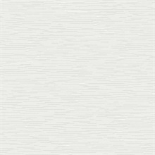 White & Light Grey Event Horizon Horizontal Metallic Lines Wallpaper