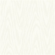 White Subtle Textured Wood Grain On Textile Strings Wallpaper