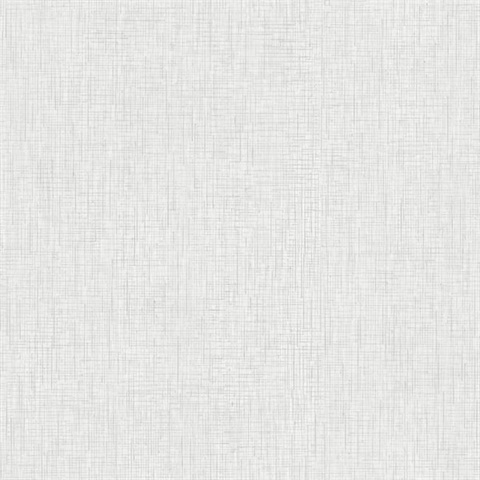 White Threaded Silk Wallpaper