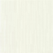 White Vertical Plumb Wallpaper