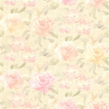 Whitney Pink Watercolour Floral