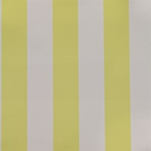 Wide Stripe Yellow & Soft Pink