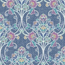 Willow Indigo Nouveau Floral
