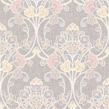 Willow Pink Nouveau Floral