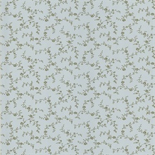 Winnie Light Blue Toile Trail Wallpaper