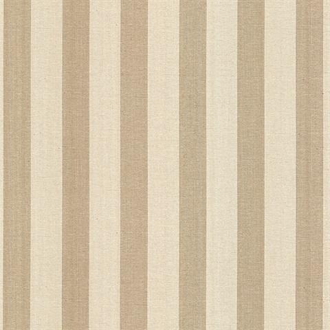 415 87913 Wirth Stripe Cream Textured Stripe Wallpaper