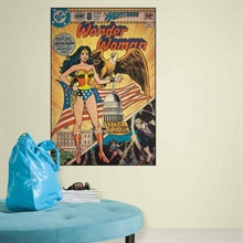 Wonder Woman Comic Cover Giant Wall Decal