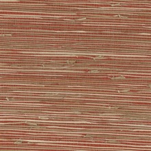 Yan Yan Red Grasscloth