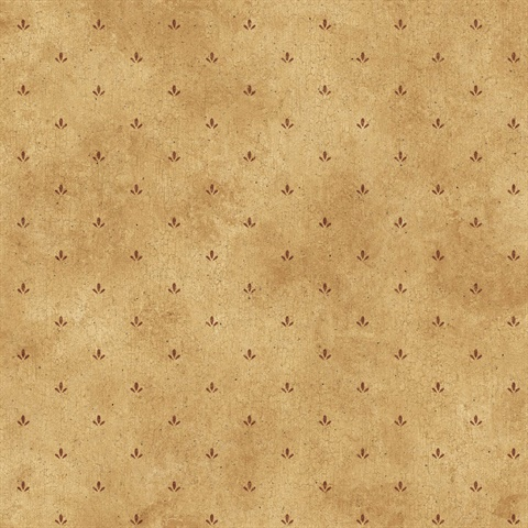 Yellow Paw Print Wallpaper