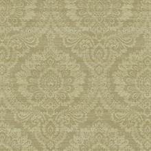 Yellow Traditional Damask