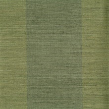 Yu Jie Dark Green Grasscloth