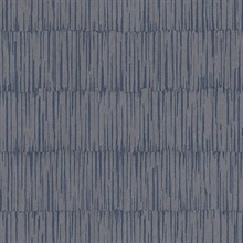Zandari Dark Blue Distressed Texture Wallpaper