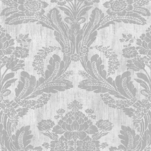 Zemi Ivory Damask Wallpaper