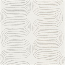 Zephyr Grey Abstract Stripe