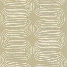 Zephyr Honey Abstract Stripe