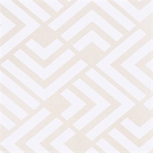 Zig Neutral Geometric Wallpaper