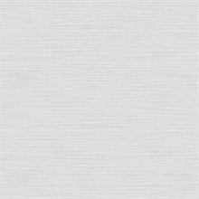 Zora Off-White Linen Texture Wallpaper