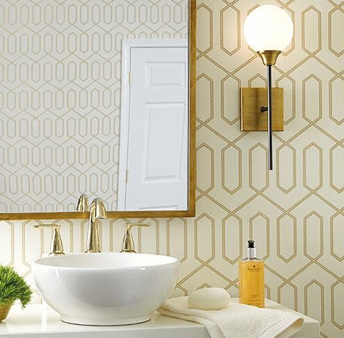Wallpaper Ideas For The Powder Room 2021