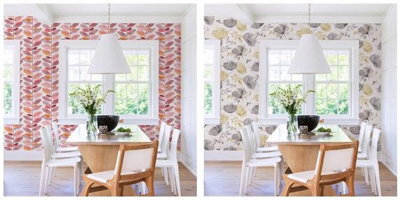Dining Room Wallpaper Ideas, Wallpaper For Dining Room Wall
