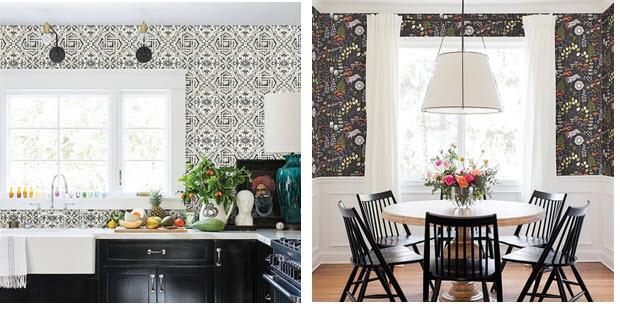 Kitchen Wallpaper Ideas Kitchen Wallpaper Backsplash Ideas