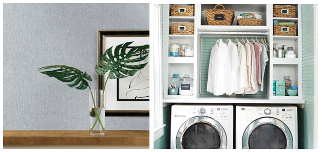 laundry room wallpaper for walls 9