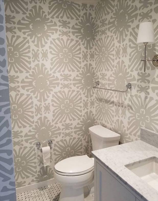 Wallpaper Ideas For The Bathroom 2021 Bathroom Wallpaper Trends